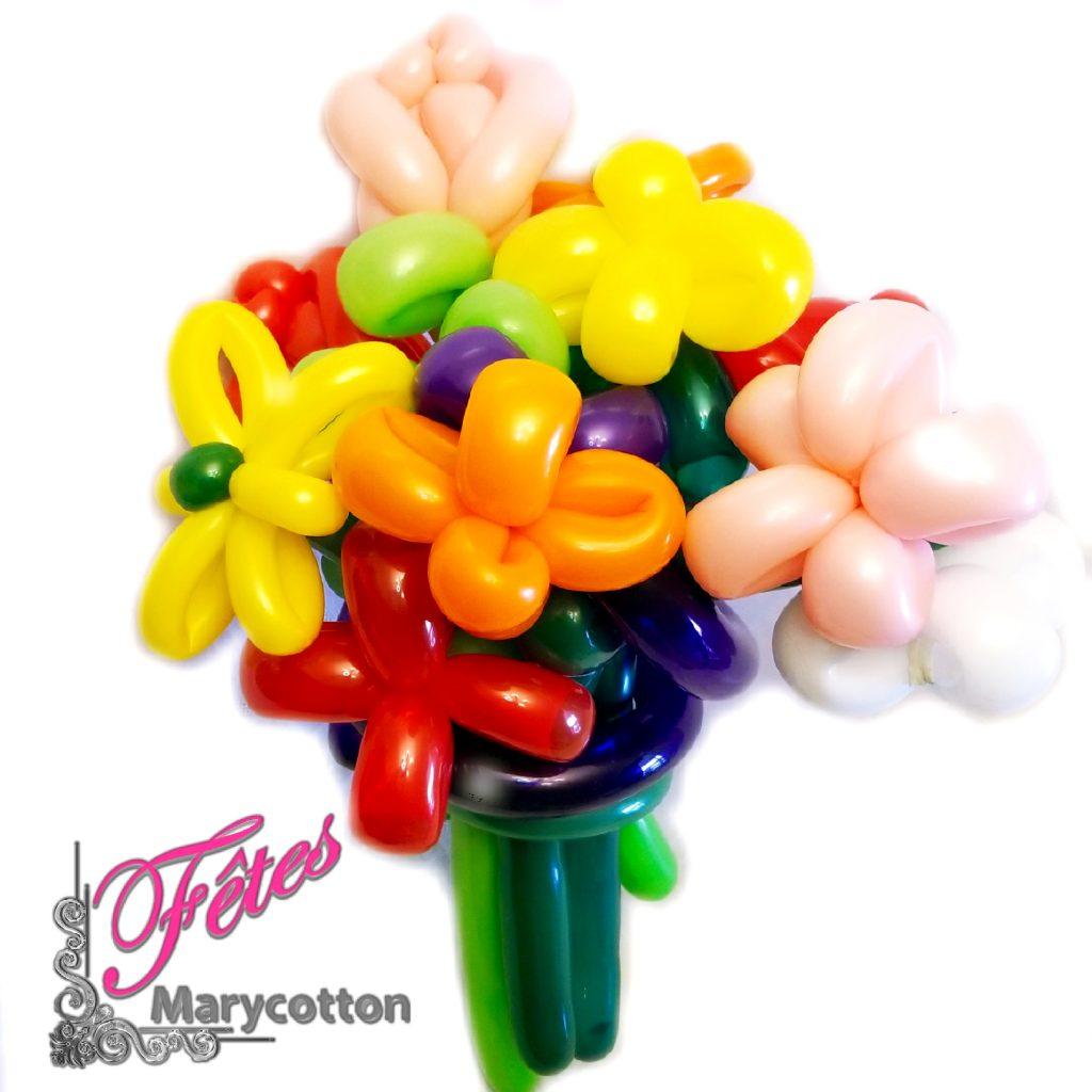 bouquet de ballons sans hélium Sherbrooke